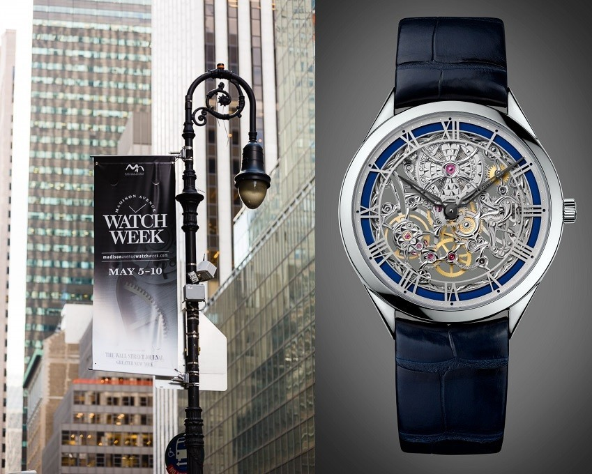 Madison Avenue Watch Week 2014 Map & Guide  Shows & Events