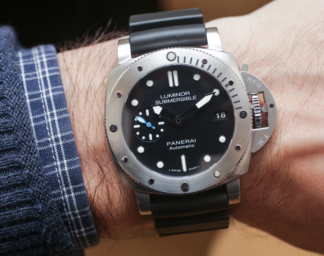 Panerai Luminor Submersible 1950 3 Days Automatic Acciaio & Oro Rosso 42mm Watches Hands-On Hands-On