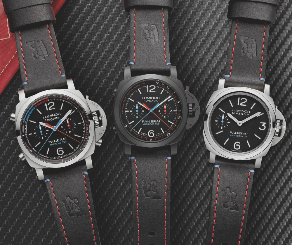 481290c995d Panerai Luminor Limited Edition Watches For 35th America s Cup ...
