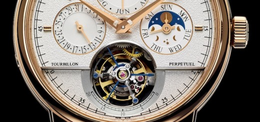 Jaeger-LeCoultre: Quantieme Perpetuel Watch With Grande Tradition Tourbillon Cylindrique