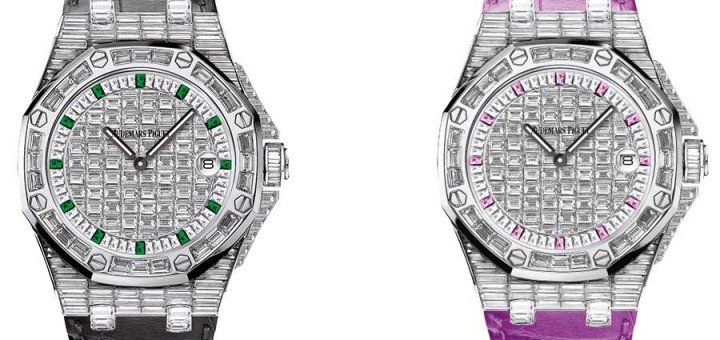 Get Your Bling On:Audemars Piguet Ladies Jewellery Quartz Watches