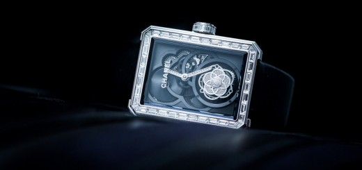 The Chanel Première Flying Tourbillon Openwork Watch In Heaven Created Exclusively For Women
