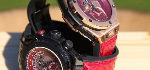 "Hublot Big Bang UNICO Chronograph Retrograde Kobe ""Vino"" Bryant with the opening of its first boutique in San Francisco"