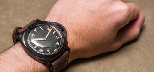 Review - Panerai Luminor 1950 3 Days Titanio DLC PAM629 'California Dial' Watch