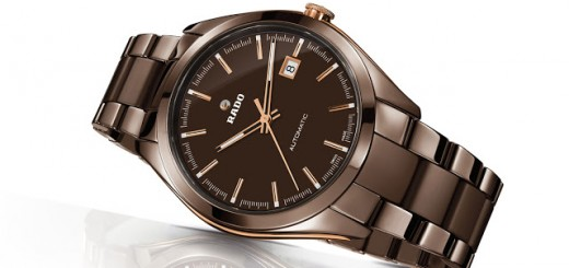 RADO with the chocolate ceramic and rose gold
