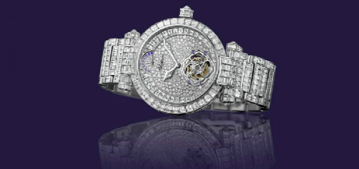 Review the classical and marvelous Chopard IMPERIALE Tourbillon Full Set