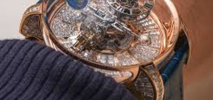 An Interesting Watch Review--Jacob & Co. Astronomia Tourbillon Watch