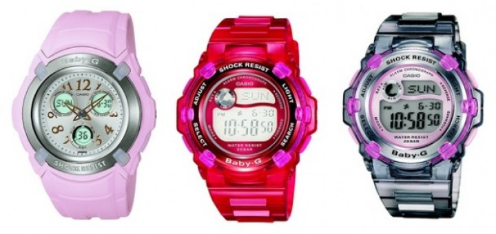 Casio Wave Ceptor series- a standard feature tremendously popular