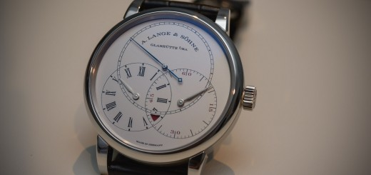 SIHH 2016 – A. Lange & Sohne Richard Lange Jumping Seconds 39.9mm Limited To 100 Pieces