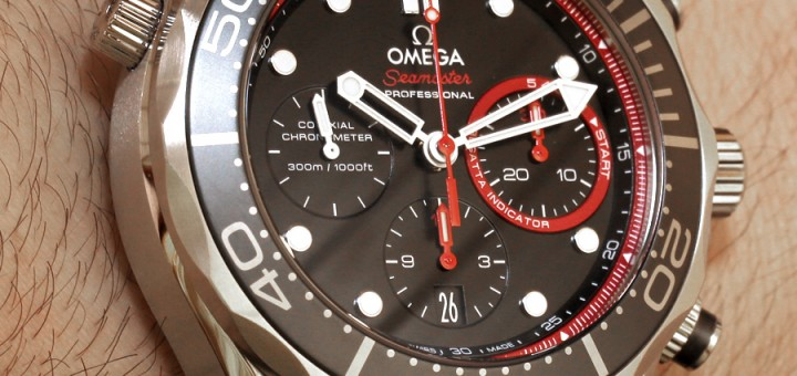 Omega Seamaster Diver 300M Co-Axial Chronograph ETNZ Watch Review