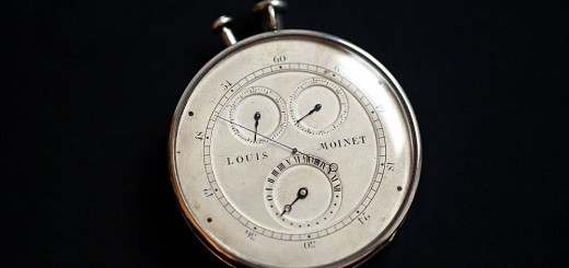 Outstanding Horological Pieceinvented by Louis Moinet Boasts A Zero Reset System