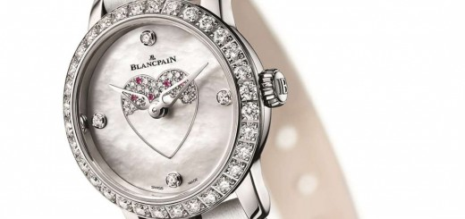 Enduring Love Story With Women Of Blancpain Ladybird for Saint Valentine's Day 2016