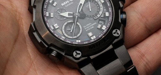 Reviewing Casio G-Shock MR-G Watch