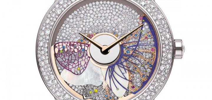 DIOR ANANT-GARDE HIGH-TECH VARNISH WATCHMAKING BETWEEN HAUTE COUTURE AND READY-TO-WEAR