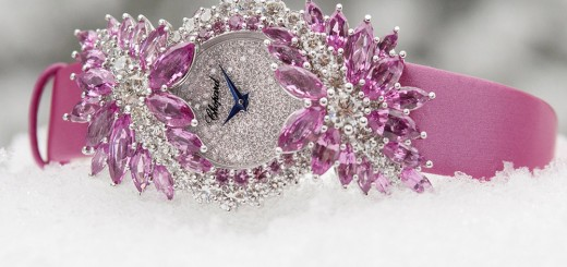 Wrists On CHOPARD Red Carpet Collection With High Jewllery