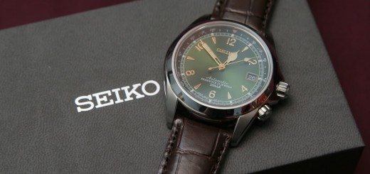 A Very Refined Gentleman's Seiko Mechanical SARB017 Alpinist Sports Watch