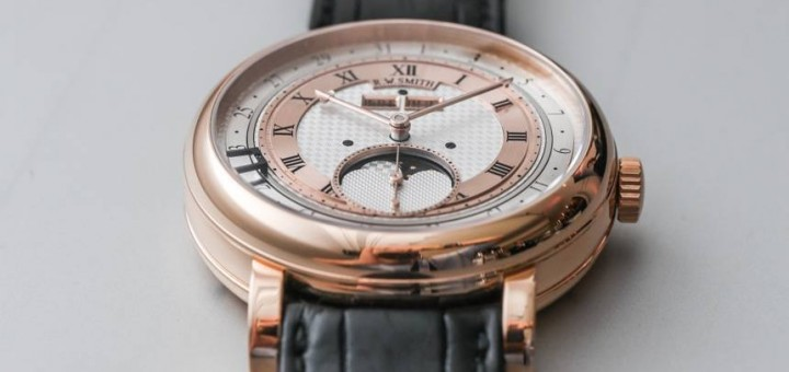 In Depth Elegant Roger Smith Series Four Triple Calendar Moonphase In 2016