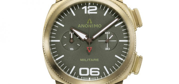 Exclusive Anonimo Militare Alpini Chrono Working With Bronze