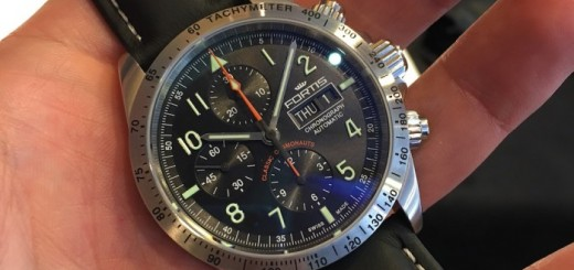 Fortis Classic Cosmonauts Chronograph Steel and Ceramic am/pm