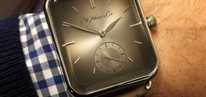 Closer Look At H. Moser & Cie. Swiss Alp Watch