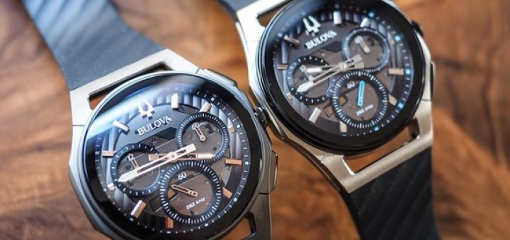 Bulova CURV Chronographs Are Equipped With High Frequency Shaped Quartz Movements