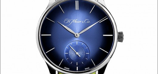 "Closer Look At The Nice, Delightful H. Moser Venturer Small Seconds XL ""Funky Blue"""