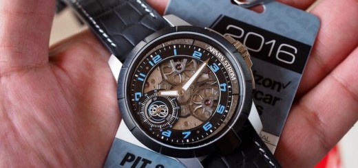 Armin Strom Presents The Larger Sporty Max Chilton Edition Edge Double Barrel