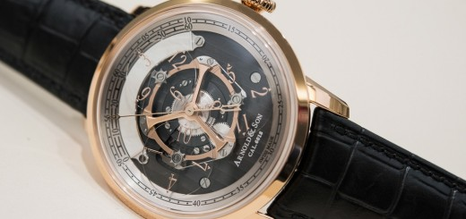 First Look At The Swiss Made Arnold & Son Updated Golden Wheel