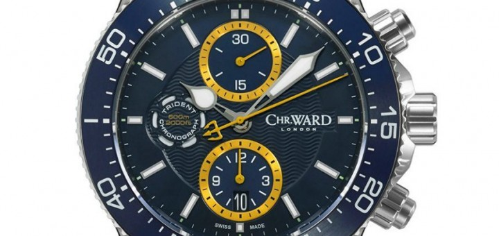 Detailed Review With The Christopher Ward C60 Trident Chronograph Watch