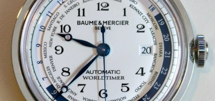 Presenting The Baume & Mercier Capeland Worldtimer Mens Watch