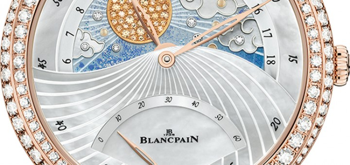 A Luxurious Version Of Elegant Blancpain Jour Nuit Ladies Watch