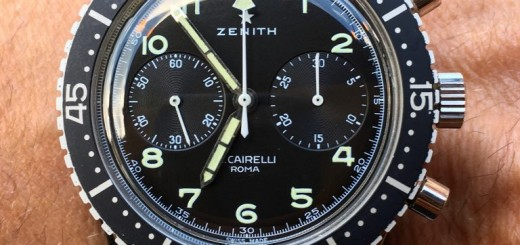 Hands-On With Zenith Heritage Cronometro TIPO CP-2 Watch