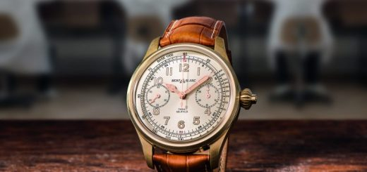 Limited Edition Watch Series:Montblanc 1858 Chronograph Tachymeter Watch