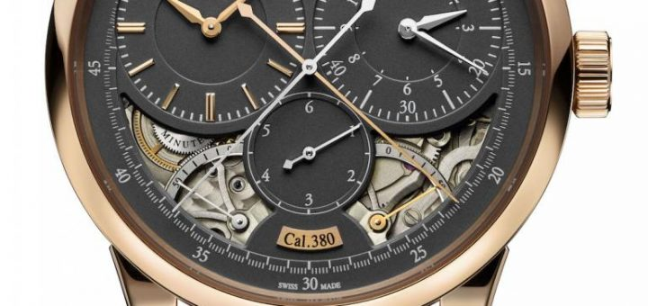 Jaeger-LeCoultre Duomètre Watches With Magnetite Grey Dials Watch