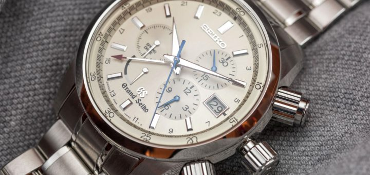 A Review Of Grand Seiko Spring Drive Chronograph SBGC001 Watch