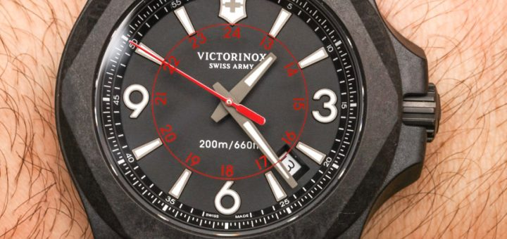 A Review Of Victorinox Swiss Army INOX Carbon Naimakka Paracord Strap Watch
