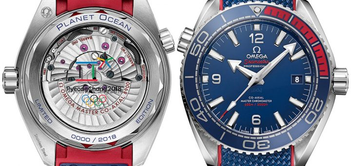 On the Wrist:Omega Seamaster Planet Ocean 'PyeongChang 2018' Olympics Watch