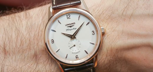 A Luxurious Version Of Longines Flagship Heritage 60th Anniversary Watch