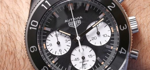 A Elegant Timepiece Of TAG Heuer Heritage Autavia Calibre Heuer 02 Watch