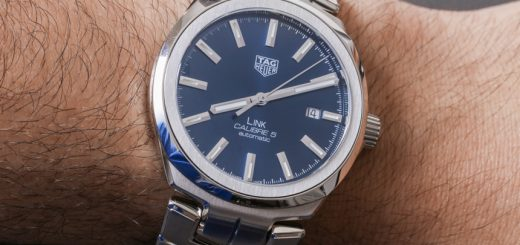 TAG Heuer Link Men Calibre 5 Watch Review Wrist Time Reviews