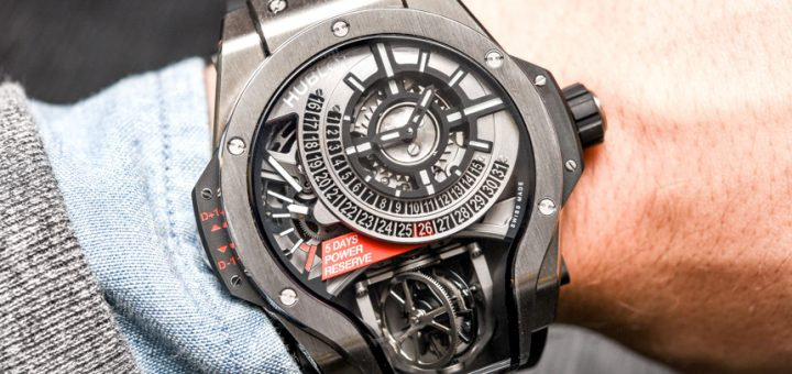 Hublot MP-09 Tourbillon Bi-Axis Watch Hands-On Hands-On