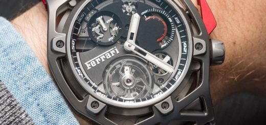 Hublot Techframe Ferrari 70 Years Tourbillon Chronograph Watch Hands-On Hands-On